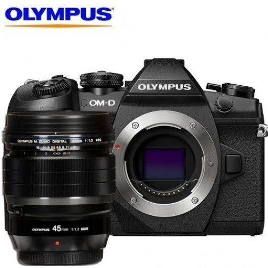 Olympus OM-D E-M1 Mark II + 45mm f/1.2 PRO Kit